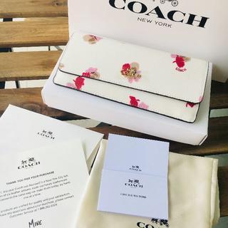 ♡美品 COACH(コーチ)折り財布 ♡F53751 ホワイト
