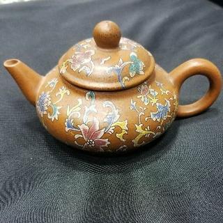 中国 紫砂 急須 在銘 煎茶道具 骨董品 美術品(9)[92](その他)