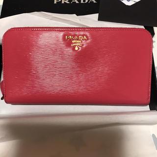 プラダ(PRADA)の美品 プラダ長財布(財布)