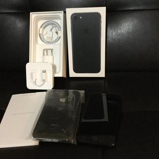 アップル(Apple)のiPhone 7 32GB ブラック /マット(スマートフォン本体)