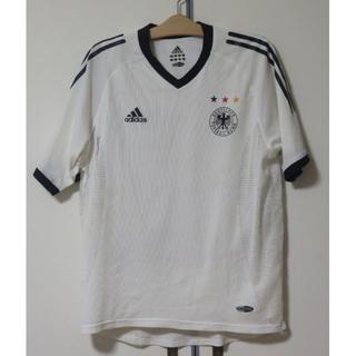 古着☆ドイツ代表☆白半袖☆2002年日韓ワールドカップ(ウェア)