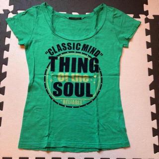 アルブム(ALBUM)のグリーンt(Tシャツ(半袖/袖なし))