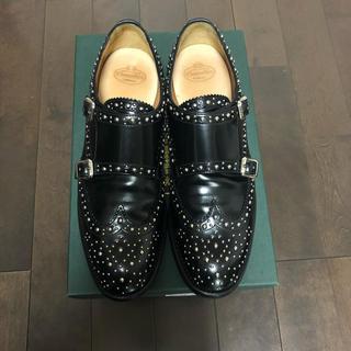チャーチ(Church's)のchurch's LANA MET スタッズ ダブルモンク シューズ(ローファー/革靴)