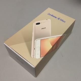 エイスース(ASUS)のもも様専用 ASUS Zenfone4 max 5.2インチ ゴールド 新品(スマートフォン本体)