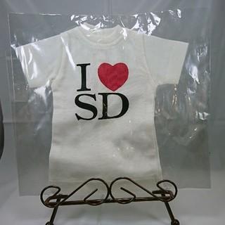 ボークス(VOLKS)の【美品】SD ドール用衣装 「I love SD」Tシャツ スーパードルフィー(その他)