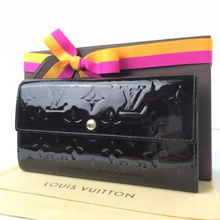ルイヴィトン(LOUIS VUITTON)のルイヴィトン  ポルトフォイユ  アマラント  モノグラム  ヴェルニ  長財布(財布)