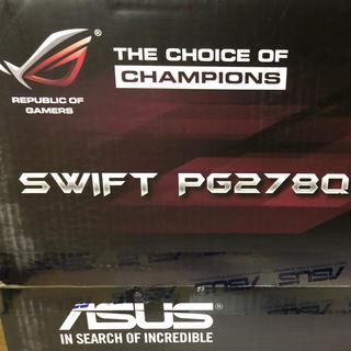 エイスース(ASUS)のASUS  ROG SWIFT PG278Qゲーミングモニター 144hz (ディスプレイ)