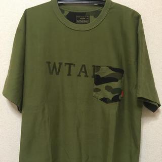 ダブルタップス(W)taps)のレア!希少品 wtaps×APE コラボTシャツ(Tシャツ/カットソー(半袖/袖なし))