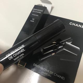 シャネル(CHANEL)のシャネル  マスカラ  10NOIR サンプル(サンプル/トライアルキット)