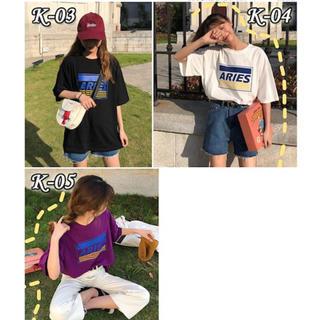 アリエス(aries)の韓国 ファッション Tシャツ(Tシャツ(半袖/袖なし))