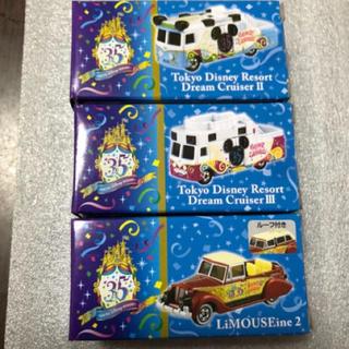 ディズニー(Disney)の【新商品】ディズニートミカ3台セット(ミニカー)