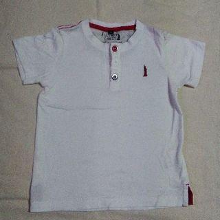 イーストボーイ(EASTBOY)の100サイズ イーストボーイ 白系 Tシャツ 綿100%(Tシャツ/カットソー)