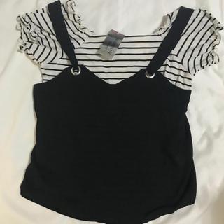シマムラ(しまむら)の新品未使用 タグ付き トップス(Tシャツ(半袖/袖なし))