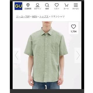 ジーユー(GU)のリネンブレンドシャツ(シャツ)