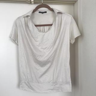 ロートレアモン(LAUTREAMONT)のロートレアモン ポロシャツ アイボリー サイズ38(シャツ/ブラウス(半袖/袖なし))