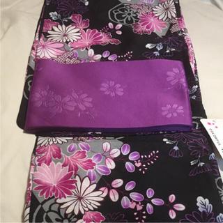 ■新品!大人用 仕立て上がり 浴衣セット 単衣帯(浴衣)
