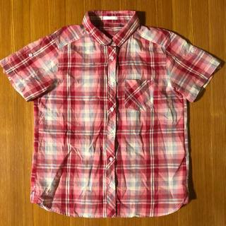 ジーユー(GU)のGU チェックシャツ(シャツ/ブラウス(半袖/袖なし))