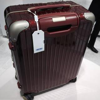 リモワ(RIMOWA)の新品 RIMOWA 45L LIMBO リンボ カルモナレッド(スーツケース/キャリーバッグ)