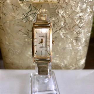 シチズン(CITIZEN)のアンティークウォッチ 替えベルト付き 手巻き2トーンカラー(腕時計)