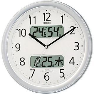 シチズン(CITIZEN)のCITIZEN ( シチズン ) 電波 掛け時計 ネムリーナカレンダーM01 シ(掛時計/柱時計)
