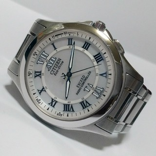 シチズン(CITIZEN)のCITIZEN EXCEED DURATECT エコドライブ 電波ソーラー腕時計(腕時計(アナログ))