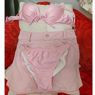 ピンキーアンドダイアン(Pinky&Dianne)の【3枚セット!】Pinky&Dianne 水着 3セット(ピンク)(水着)