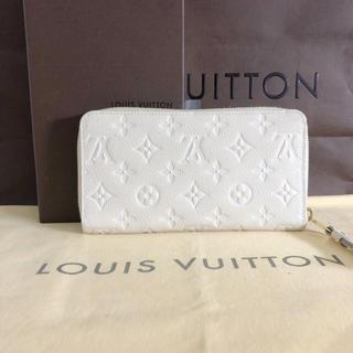 ルイヴィトン(LOUIS VUITTON)の使用僅か ルイヴィトン アンプラント  ジッピーウォレット(財布)