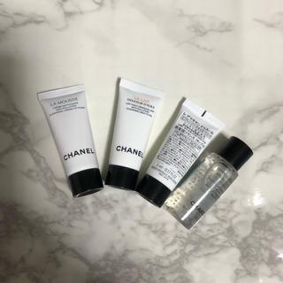 シャネル(CHANEL)の化粧品サンプルまとめ売り CHANEL クレンジング・洗顔(サンプル/トライアルキット)
