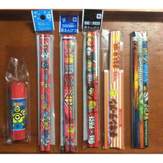 ショウワノート(ショウワノート)の《新品》赤鉛筆+鉛筆(合計12本)とスティックのり(その他)