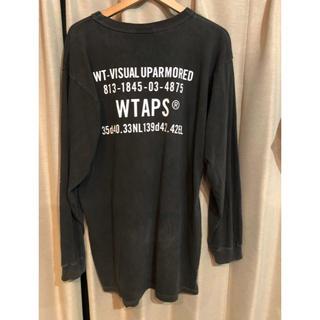 ダブルタップス(W)taps)のWTAPS DESIGN LS SPEC BEGGIE M 黒 ロンT(Tシャツ/カットソー(七分/長袖))