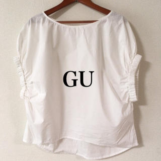 ジーユー(GU)のGU✨ブラウス(シャツ/ブラウス(半袖/袖なし))