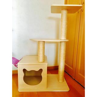 家具調キャットタワー
