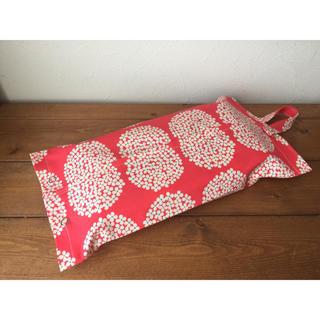 紫陽花ピンク ティッシュカバー(ティッシュボックス)