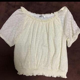 シマムラ(しまむら)のオフショルダー レーストップス(Tシャツ(半袖/袖なし))