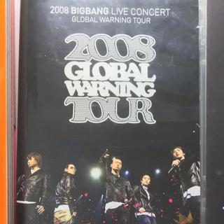 ビッグバン(BIGBANG)のbigbang DVD global warning tour(ミュージック)