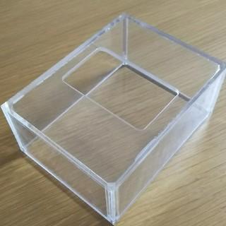 ムジルシリョウヒン(MUJI (無印良品))の無印良品 アクリルティッシュケース(ティッシュボックス)