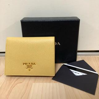 PRADA - 新品未使用 プラダ 二つ折り財布