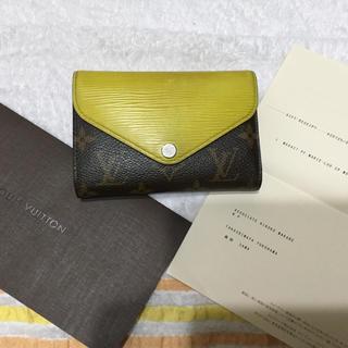 ルイヴィトン(LOUIS VUITTON)のルイヴィトン モノグラム×エピの珍しい二つ折り財布❣️(財布)
