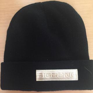 ビッグバン(BIGBANG)のBIGBANG ニット帽(ニット帽/ビーニー)