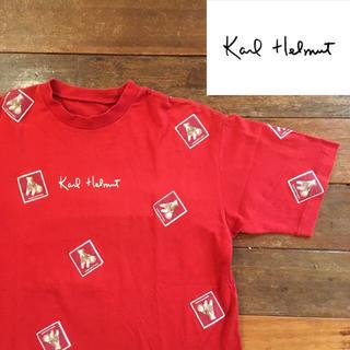 カールヘルム(Karl Helmut)のKarl Helmut カールヘルム Tシャツ ピンクハウスなどがお好きな方にも(Tシャツ/カットソー(半袖/袖なし))