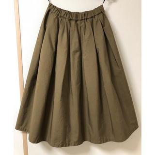 チャイルドウーマン(CHILD WOMAN)のall  of me (CHILD WOMAN)日本製 膝下 フレアスカート(ひざ丈スカート)
