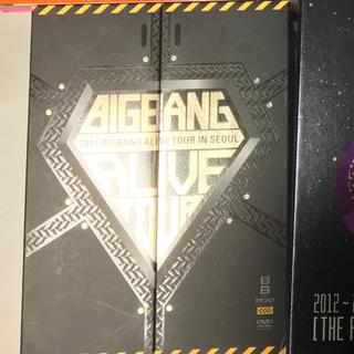 ビッグバン(BIGBANG)のbigbang  DVD ALIVE TOUR IN SEOUL(ミュージック)