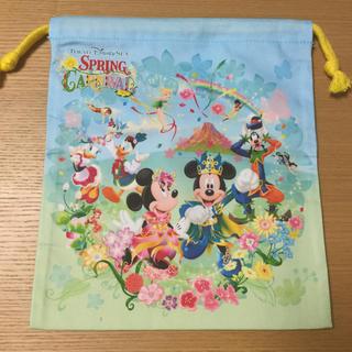 ディズニー(Disney)の58番 東京ディズニーシー 巾着(ポーチ)