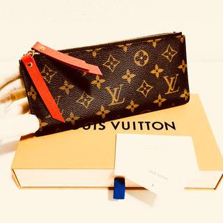 ルイヴィトン(LOUIS VUITTON)の316❤️ほぼ未使用❤️最新❤️ルイヴィトン❤️ジップ 長財布❤️正規品鑑定済み(財布)