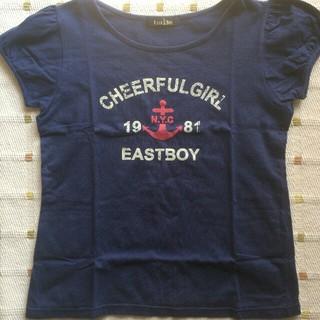 イーストボーイ(EASTBOY)のEAST BOY ネイビーTシャツ(シャツ/ブラウス(半袖/袖なし))