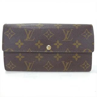 ルイヴィトン(LOUIS VUITTON)のルイヴィトン ヴィトン 長財布 財布 モノグラム M61734 ポルトフォイユ(財布)