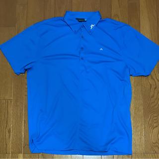 ジェイリンドバーグ(J.LINDEBERG)のポロシャツ j.lindeberg ブルー メンズ(ポロシャツ)