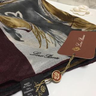 ロロピアーナ(LORO PIANA)の新品 ロロピアーナ スカーフ エルメス 好きな方にもオススメ(バンダナ/スカーフ)