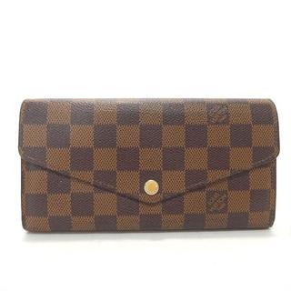 ルイヴィトン(LOUIS VUITTON)のルイヴィトン ヴィトン 長財布 財布 ダミエ N63209 ポルトフォイユ(財布)
