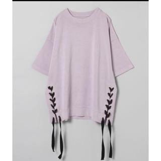 ジーナシス(JEANASIS)のジーナシス レースアップ(Tシャツ(半袖/袖なし))